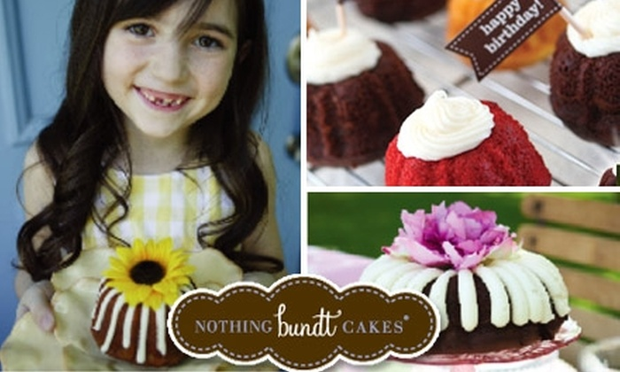 Nothing Bundt Cakes - Southlake Town Square: $10 for $20 Worth of Delicious Baked Creations at Nothing Bundt Cakes