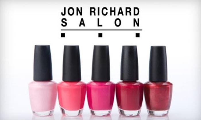 Jon Richard Salon - Cranston: Salon Services at Jon Richard Salon in Cranston. Choose Between Two Options.