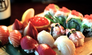 Wild Wasabe: $17 for $25 Worth of Sushi and Japanese Food at Wild Wasabe