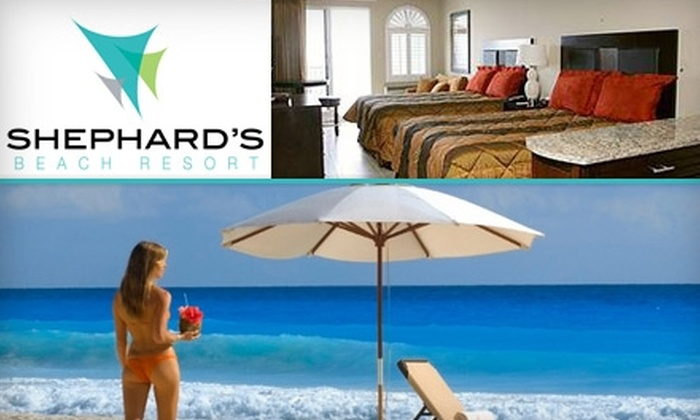 Shephard's Beach Resort - Clearwater: $79 for a One-Night Getaway at Shephard's Beach Resort (Up to $199 Value)