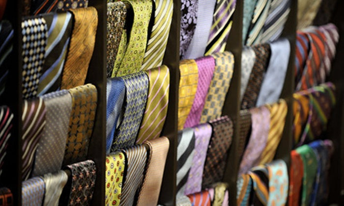Luciano Benelli: $75 for Three Handmade Ties from Luciano Benelli ($224.97 Value)