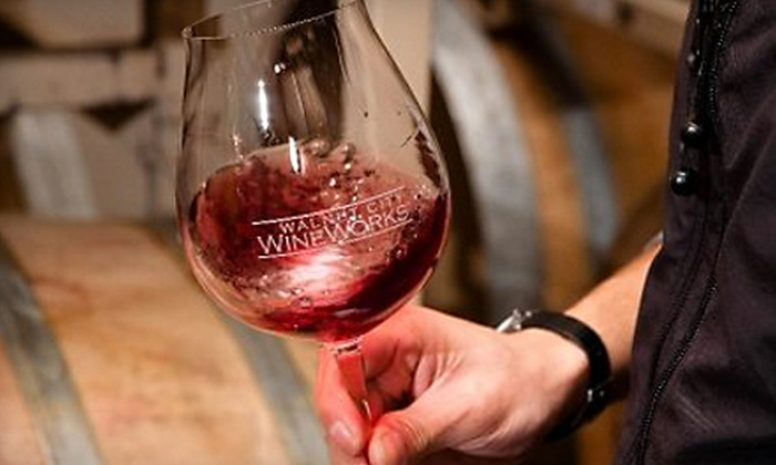 Walnut City WineWorks - McMinnville: $14 for a Wine-Tasting Outing for Two at Walnut City WineWorks ($30 Value)
