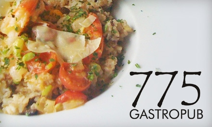 775 Gastropub - Convention Center: $10 for $20 Worth of Gourmet Bistro Fare and Specialty Drinks at 775 Gastropub