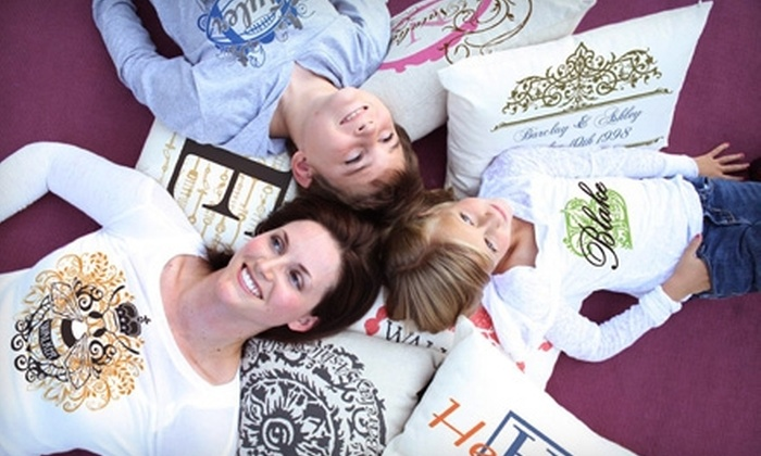 Basic Couture: $20 for $40 Worth of Customized Clothing, Throw Pillows, and Home Accessories from Basic Couture