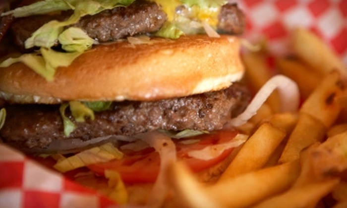 Fresh & Fast Burgers - Kips Bay: $5 for $10 Worth of Burgers and Drinks at Fresh & Fast Burgers