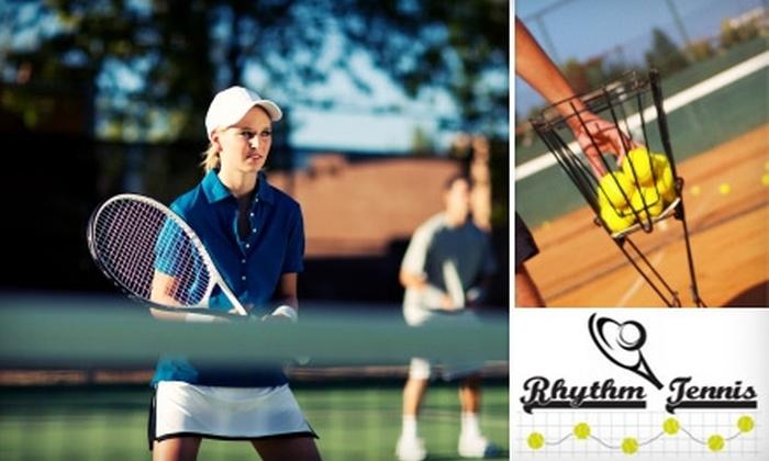 Rhythm Tennis - Russian Hill: $35 for a Two-Hour Tennis Lesson at Rhythm Tennis