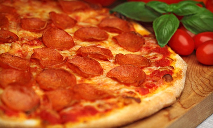 Happy Pizza - Stockton: $7 for $15 Worth of Pizza and Italian Fare at Happy Pizza