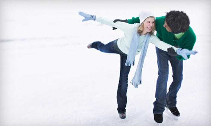 Joel Coliseum Annex Ice Rink - Winston-Salem: Ice-Skating Outing with Skate Rental for 2, 4, or 10 at Joel Coliseum Annex Ice Rink in Winston-Salem (Up to 58% Off)