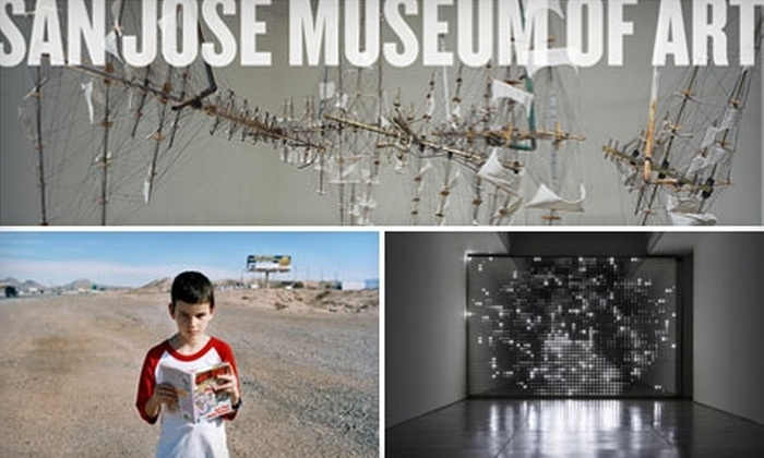 San Jose Museum of Art - Downtown San Jose: $35 for a One-Year Dual/Family Membership to the San Jose Museum of Art ($75 Value)