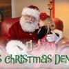 Santas Christmas Den - Riverside: $10 for a Visit with Santa and One Sheet of Photos from Santa's Christmas Den ($20 Value)