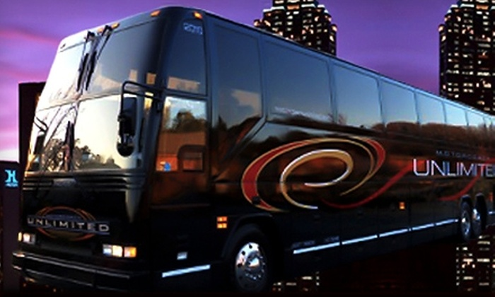 Motorcoach Unlimited - Multiple Locations: Round-Trip Bus Ride to Wind Creek Casino from Motorcoach Unlimited. Two Options Available.