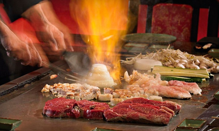 Nikko's Japanese Steakhouse - Executive Hills: Japanese Dinner Sunday–Thursday or Friday–Saturday at Nikko's Japanese Steakhouse in Overland Park (Up to 67% Off)