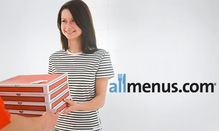 Allmenus.com - Pittsburgh: $10 for $20 Toward Delivered Food from More Than 300 Restaurants at Allmenus.com
