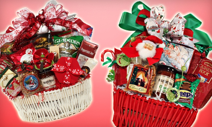 Executive Baskets - Multiple Locations: $25 for $50 Worth of Themed Gift Baskets and Holiday Décor at Executive Baskets