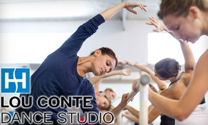 Lou Conte Dance Studio - West Loop: $44 for 10 Classes from Lou Conte Dance Studio at Hubbard Street Dance Chicago