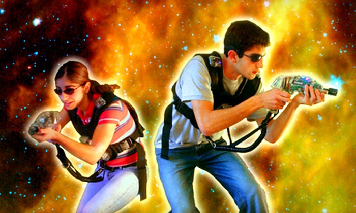 Galaxy Tag - Williamsburg: $11 for Three Games of Laser Tag at Galaxy Tag in Williamsburg ($23.85 Value)