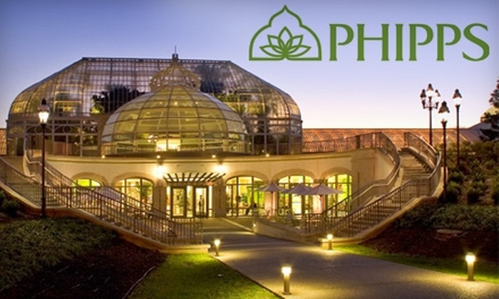 Phipps Conservatory and Botanical Gardens - Squirrel Hill South: $12 for Two One-Day Passes (Up to $24 Value) to Phipps Conservatory