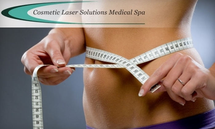 Cosmetic Laser Solutions - Multiple Locations: $250 for Two Noninvasive Laser Liposuction Treatments at Cosmetic Laser Solutions ($800 Value)