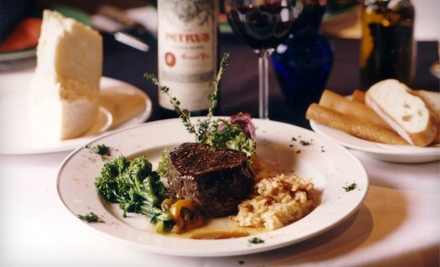 La Bistecca Italian Grille: $20 Groupon for Lunch Fare - La Bistecca Italian Grille in Plymouth