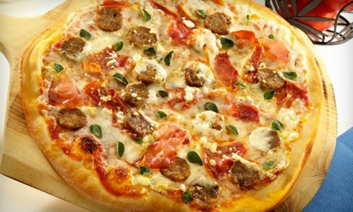 Brixx Wood Fired Pizza - Mount Pleasant: Pizzeria Meal for Two or $10 for $20 Worth of Pizzeria Fare and Drinks at Brixx Wood Fired Pizza (Up to 54% Off)