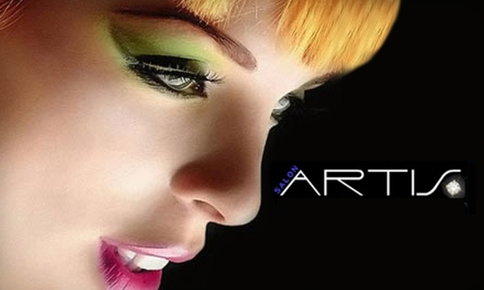Salon Artis - McLaughlin: $32 for a Haircut and Treatment ($67.80 Value) at Salon Artis in Oshawa