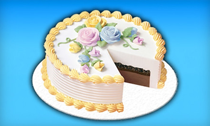 Dairy Queen - Depew: 8-Inch or 10-Inch Ice-Cream Cake at Dairy Queen in Depew (Up to 53% Off)