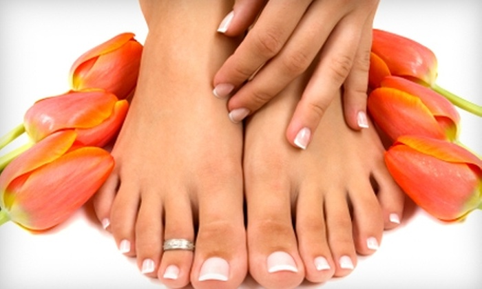 Beauty & Soul Salon/Day Spa - Altoona: $35 for a Platinum Manicure and Pedicure at Beauty & Soul Salon/Day Spa in Altoona ($70 Value)