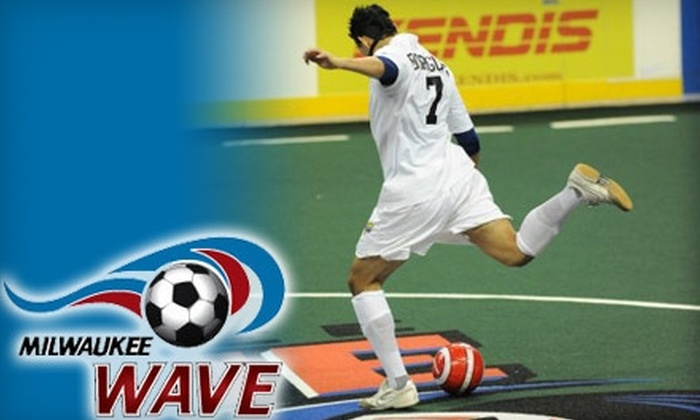 Milwaukee Wave - Kilbourn Town: $8 for a 400-Level Ticket to the Milwaukee Wave Home Match on December 31 ($16 Value)