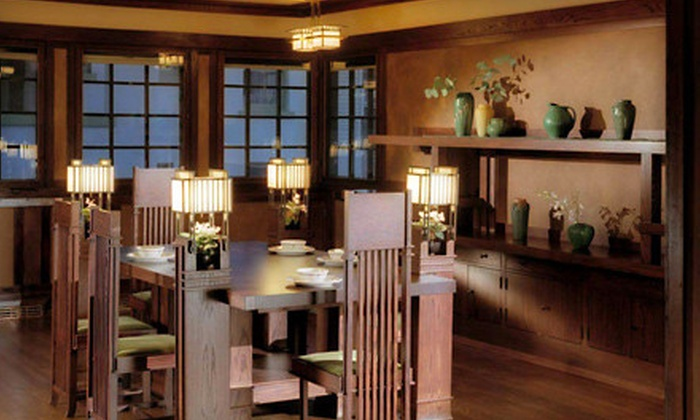 Frank Lloyd Wright's Westcott House - Warder's Homestead: $10 for a Tour for Two of Westcott House from The Westcott House Foundation in Springfield (Up to $21 Value)