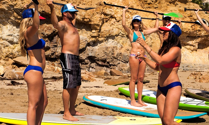SUP Iowa - Oak Hill Marina: One-Hour Group or Private Paddleboard Lesson with One-Hour Board Rental at SUP Iowa (Up to 44% Off)