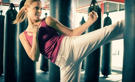 5 Yoga or Cardio Kickboxing Classes (a $62 value) - Brazil Academy in Lenexa