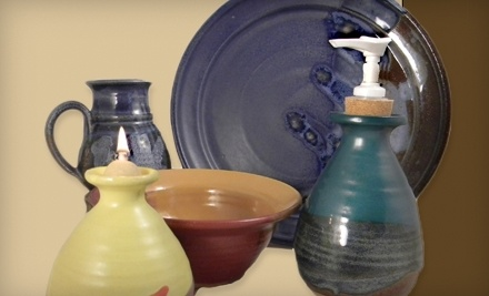 $20 Groupon to Pottery Rowe - Pottery Rowe in Louisville