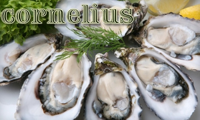 Cornelius - Prospect Heights: $18 for $40 Worth of Oysters, Drinks, and American Fare at Cornelius in Brooklyn