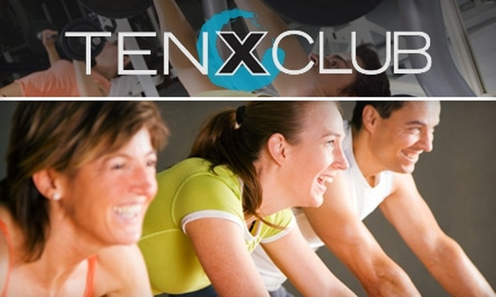 Ten X Club - Multiple Locations: $29 for 20 All-Access Day Passes at Ten X Club ($300 Value)