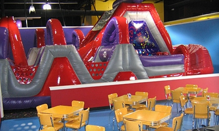 Air Zone - Jefferson Highlands: $14 for a Four-Visit Children's Play Pass to Air Zone ($28 Value)