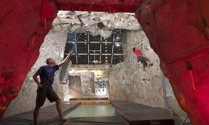 MPHC Climbing Gym - Midtown: $49 for a Rock-Climbing Lesson and One-Month Climbing Gym Membership at MPHC Climbing Gym ($100 Value)