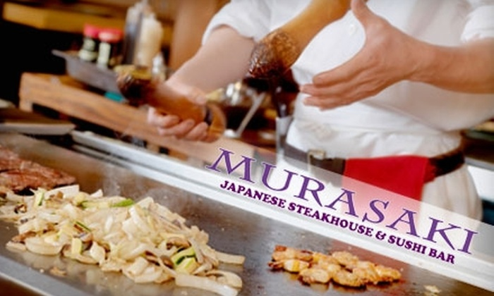 Murasaki Steakhouse and Sushi Bar - Stillwater: $20 for $40 Worth of Japanese Fare at Murasaki Steakhouse & Sushi Bar in Stillwater
