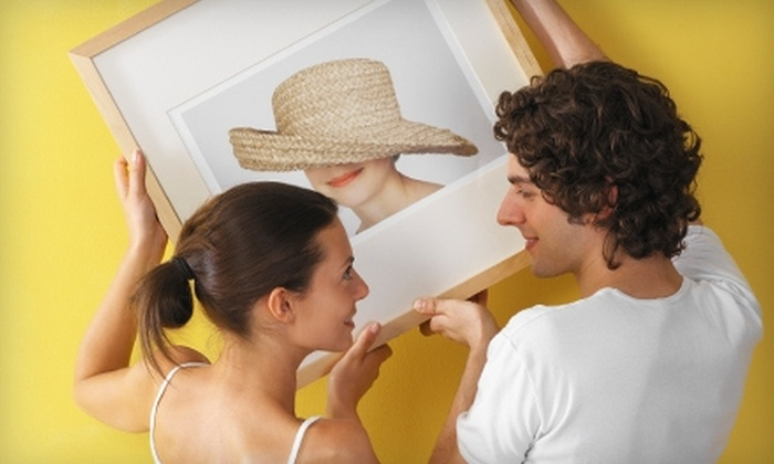 Deck The Walls - Multiple Locations: $45 for $100 Worth of Custom Framing at Deck The Walls
