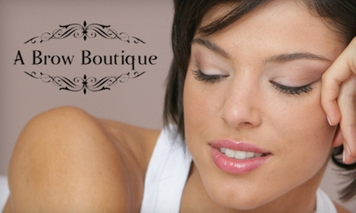 A Brow Boutique - Far North Dallas: $25 for $50 Worth of Sugaring Hair Removal at A Brow Boutique
