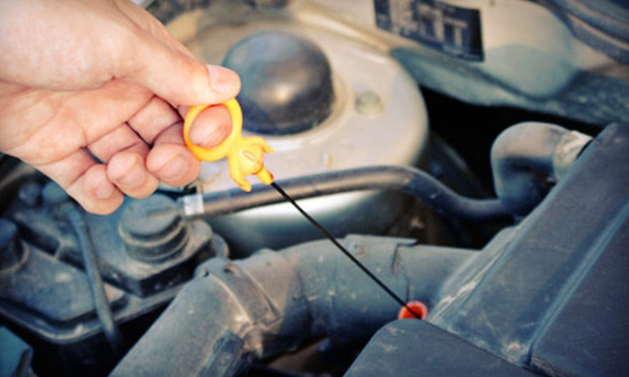 EFS Auto - Rochester: Oil-Change Package or Oil-Change and Alignment Package with Multipoint Inspection at EFS Auto (Up to 52% Off)