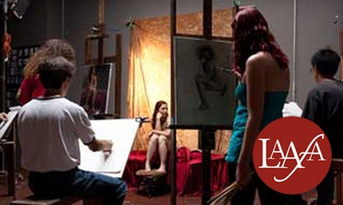 Los Angeles Academy of Figurative Art - Lake Balboa: $21 for a One-Day, Instructed, Three-Hour Painting or Drawing Class at the Los Angeles Academy of Figurative Art