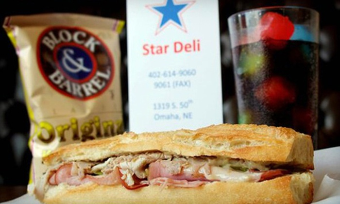 Star Deli - Aksarben/Elmwood Park: Deli Meal for 2 or Sandwich Tray for Up to 10 at Star Deli (Up to Half Off)
