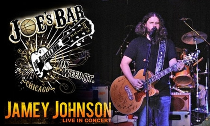 Joe's Bar - Near North Side: $12 for a Ticket to August 12 Concert Featuring Jamey Johnson at Joe's Bar ($25 Value)