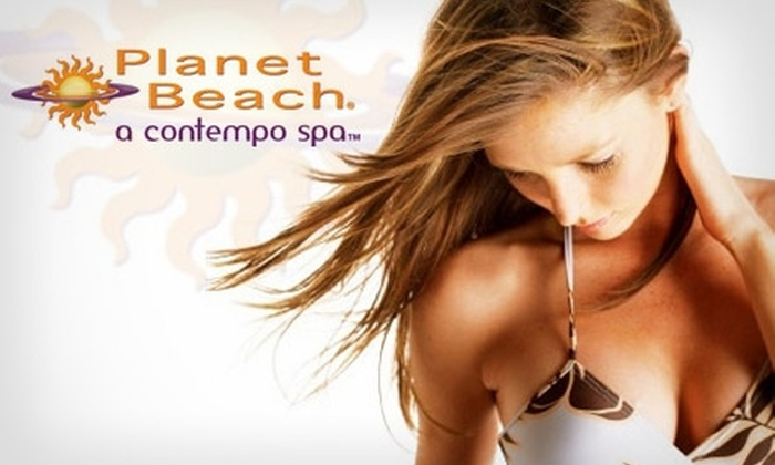 Planet Beach Contempo Spa - Oak Lawn: $20 for One Week of Unlimited Spa Services at Planet Beach Contempo Spa ($250 Value)