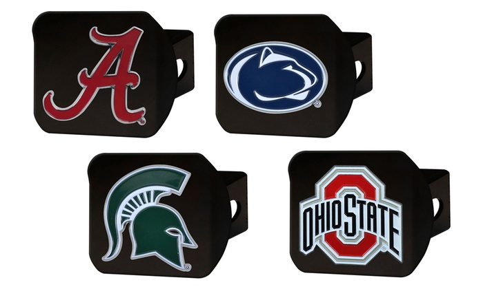 FANMATS NCAA Mens Black Hitch Cover with Color Emblem