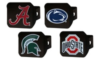 Fanmats NCAA Black Hitch Cover with Color Emblem