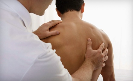 $25 for Chiropractic Package with Exam, Adjustment, and Massage at Health Source Ogden Chiropractors Group ($255 Value)