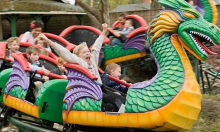 Weekday Amusement-Park Outing for Four or Birthday Package at Funderland Amusement Park (Up to 46% Off)