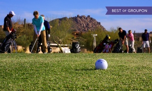 Troon North Golf Club: 3, 6, or 10 One-Hour Group Golf Lessons at Troon North Golf Club (Up to 54% Off)