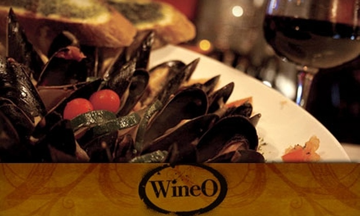 WineO - Philadelphia: $20 for $40 Worth of Mediterranean-Inspired Cuisine, Fine Wine, and More at WineO